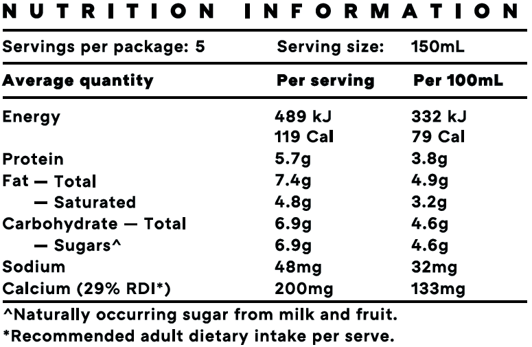Kefir Yoghurt Strawberry NIP.png