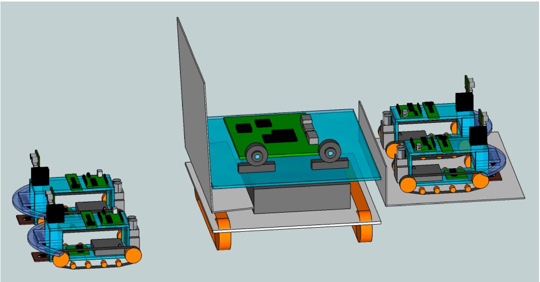 Revised General design in sketchup.