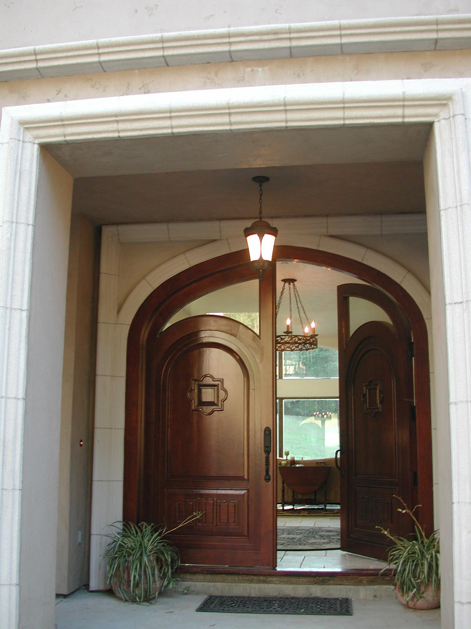 Front door from Indonesia.JPG