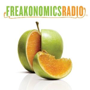 Freakonomics Radio   A highly produced classic podcast by Stephen Dubner &Steve Levitt. 45 min