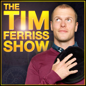 The Tim Ferris Show   Tim Ferris interviews in-depth quite a range of guests. 1-2 hrs