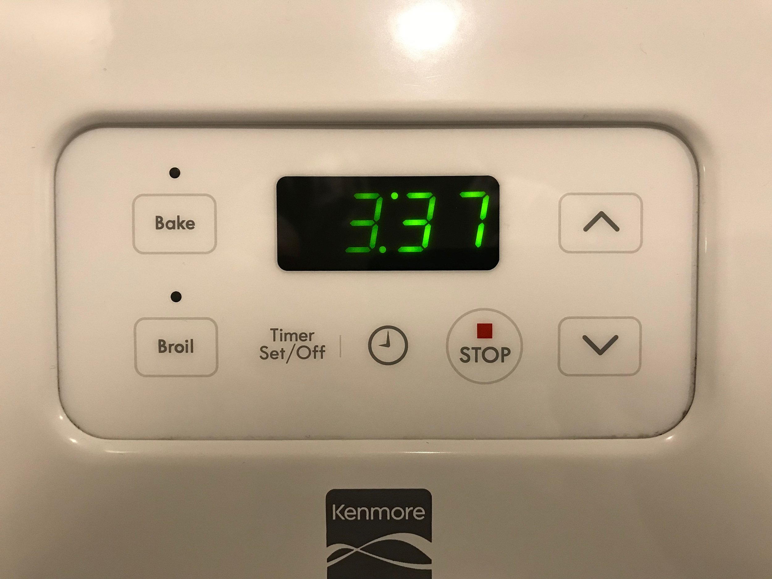 kenmore oven 1