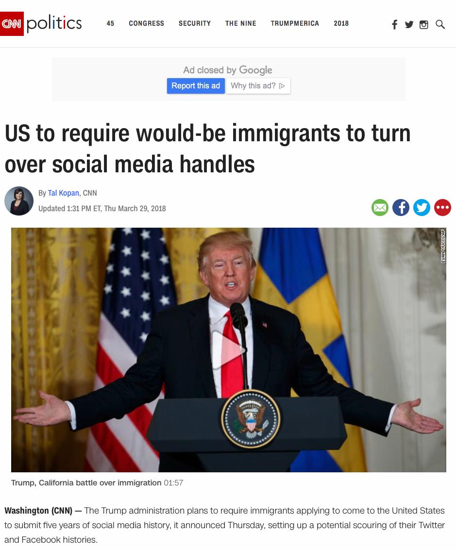 CNN  March 2018
