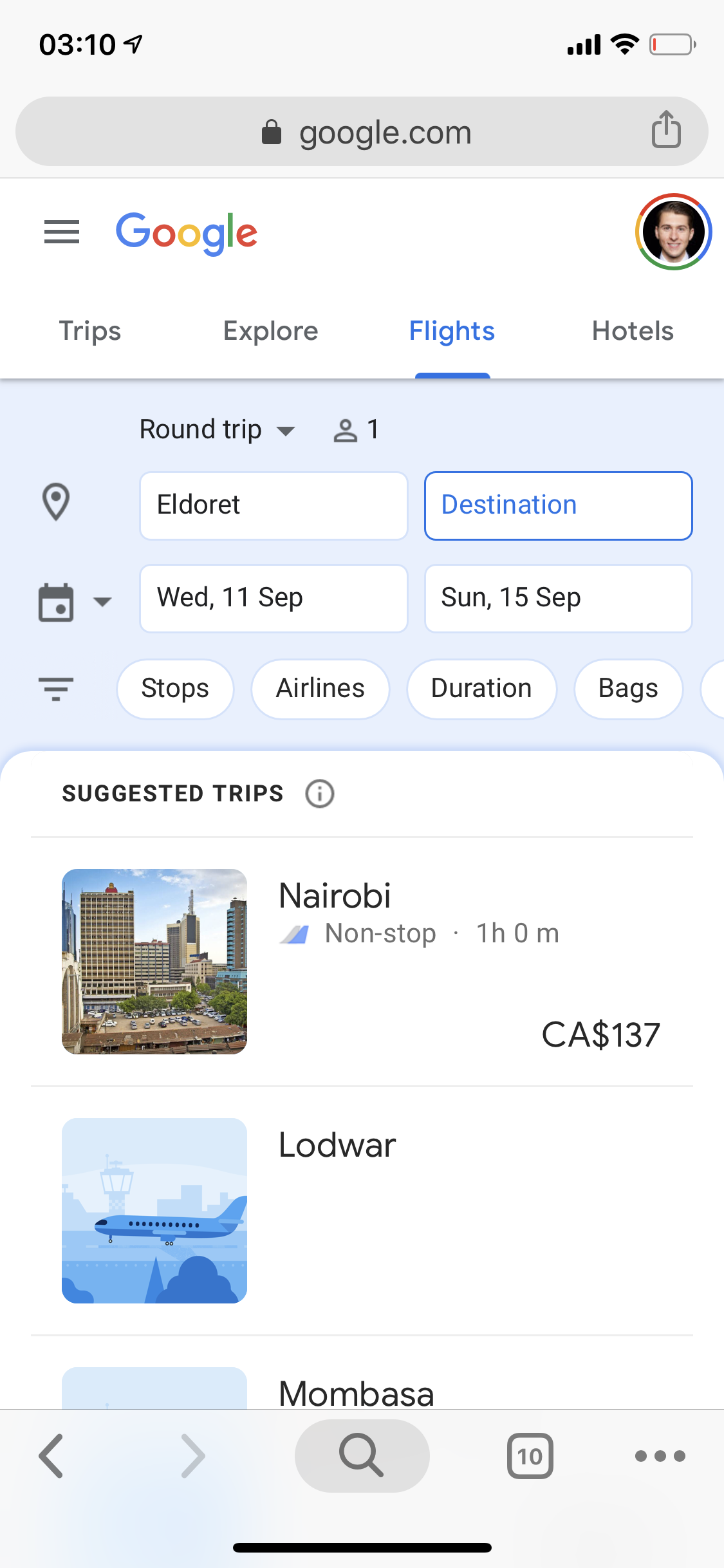 Google Flights 3 dates.PNG