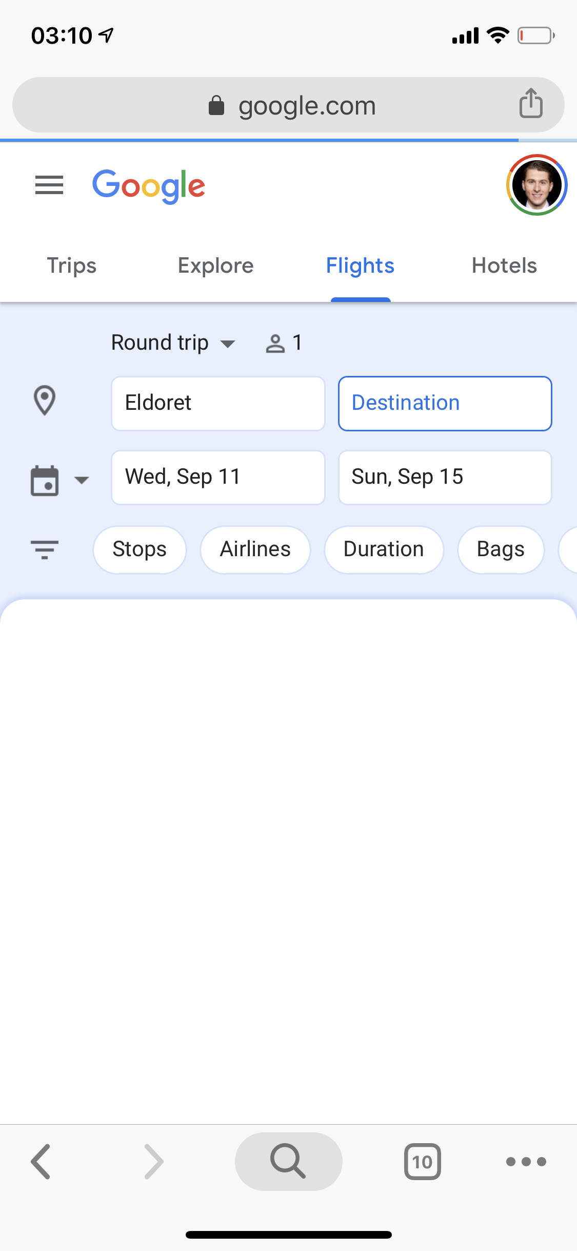 Google Flights 4 dates.PNG
