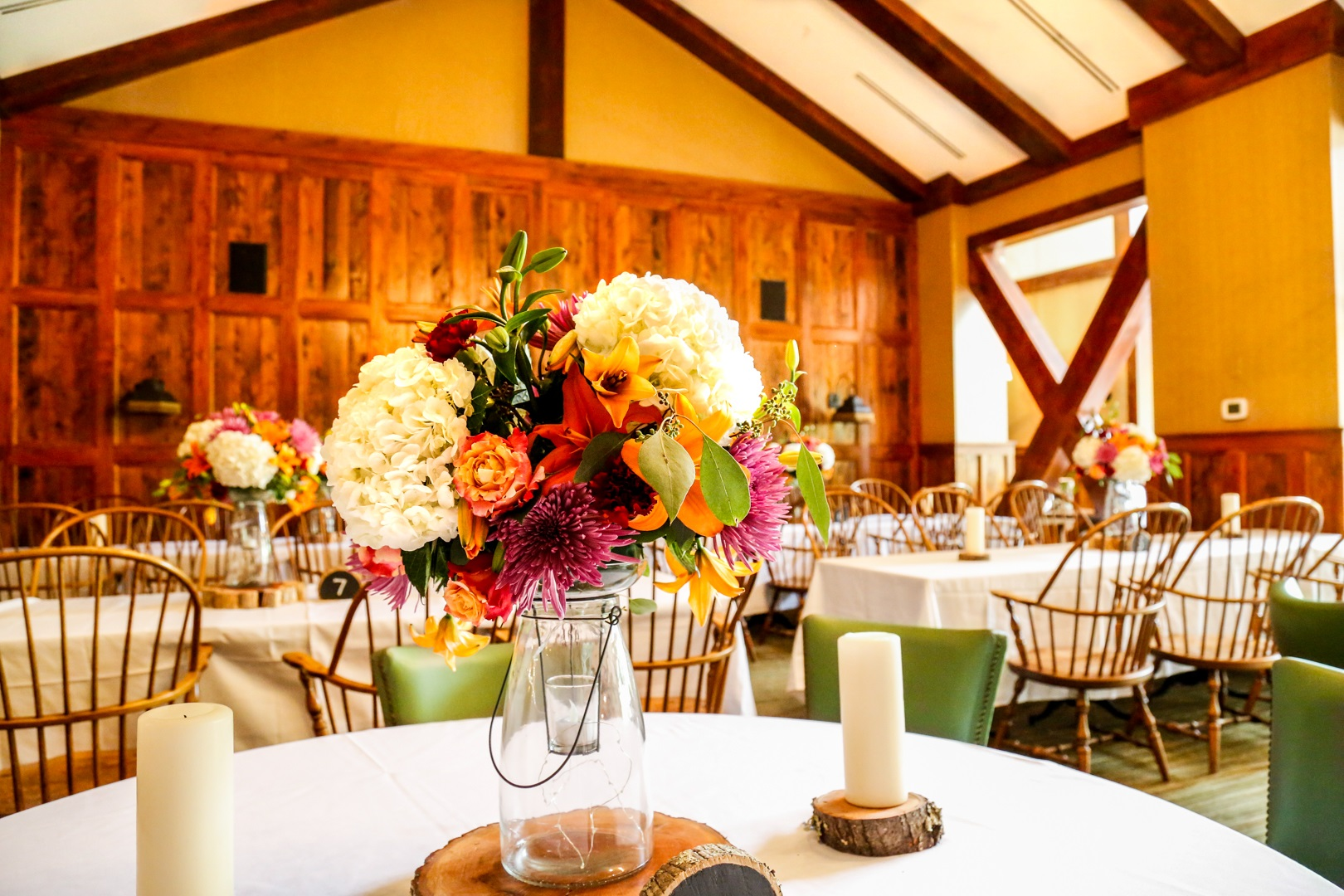 Wedding Flowers on table.jpg