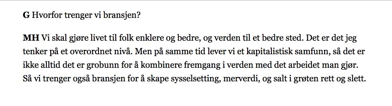 MH: Magnus Helgesen