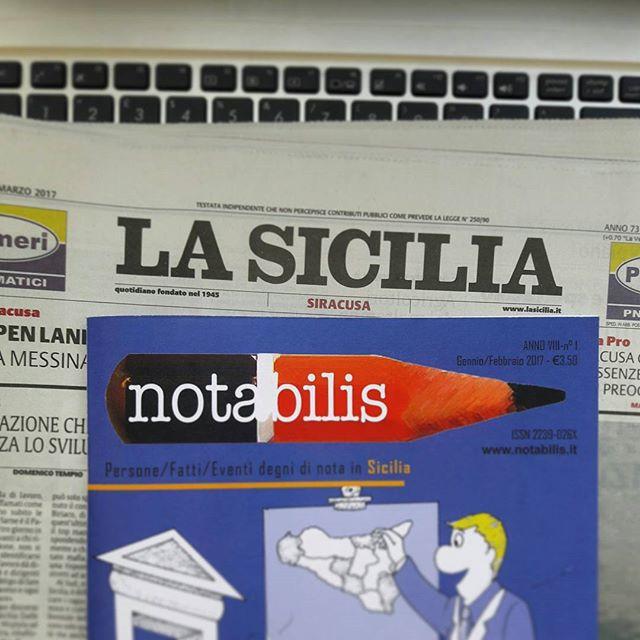 Non perdete l'intervista della nostra direttrice su La Sicilia di oggi.  #notabilismag #webmag #magazine #lintervista #larivista #inedicola #notabilis #sicilia #lasicilia #redazione #persone #fatti #eventi #degnidinota #insicilia #paper #sundaypaper