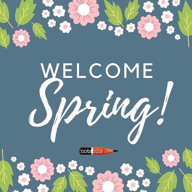 """V'è qualcosa nella primavera che nonnsi può esprimere a parole"""" (Isaac Bashevis Singer)  #notabilis  #welcomespring  #rinascita  #novitàinarrivo  #primogiornodiprimavera  #giornatediprimavera"""