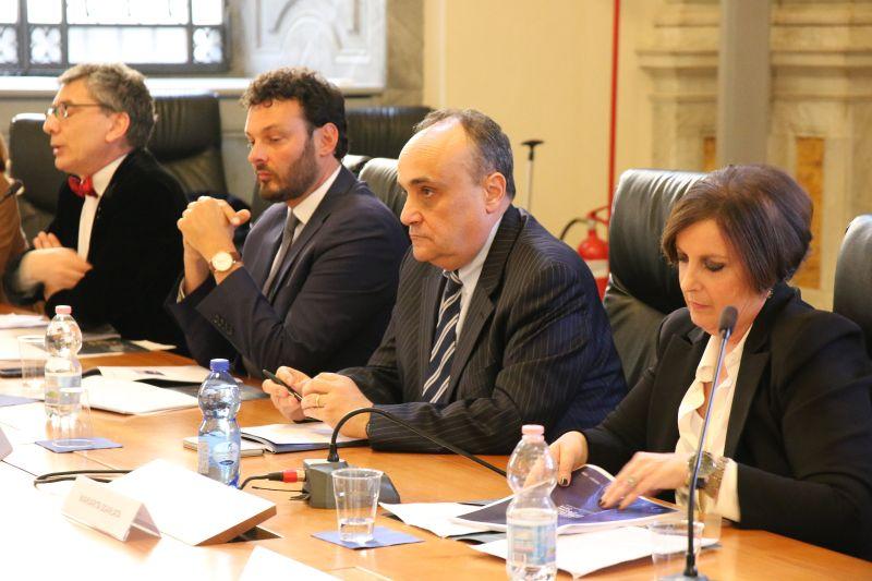 conferenza stampa INDA Roma - MIBAC
