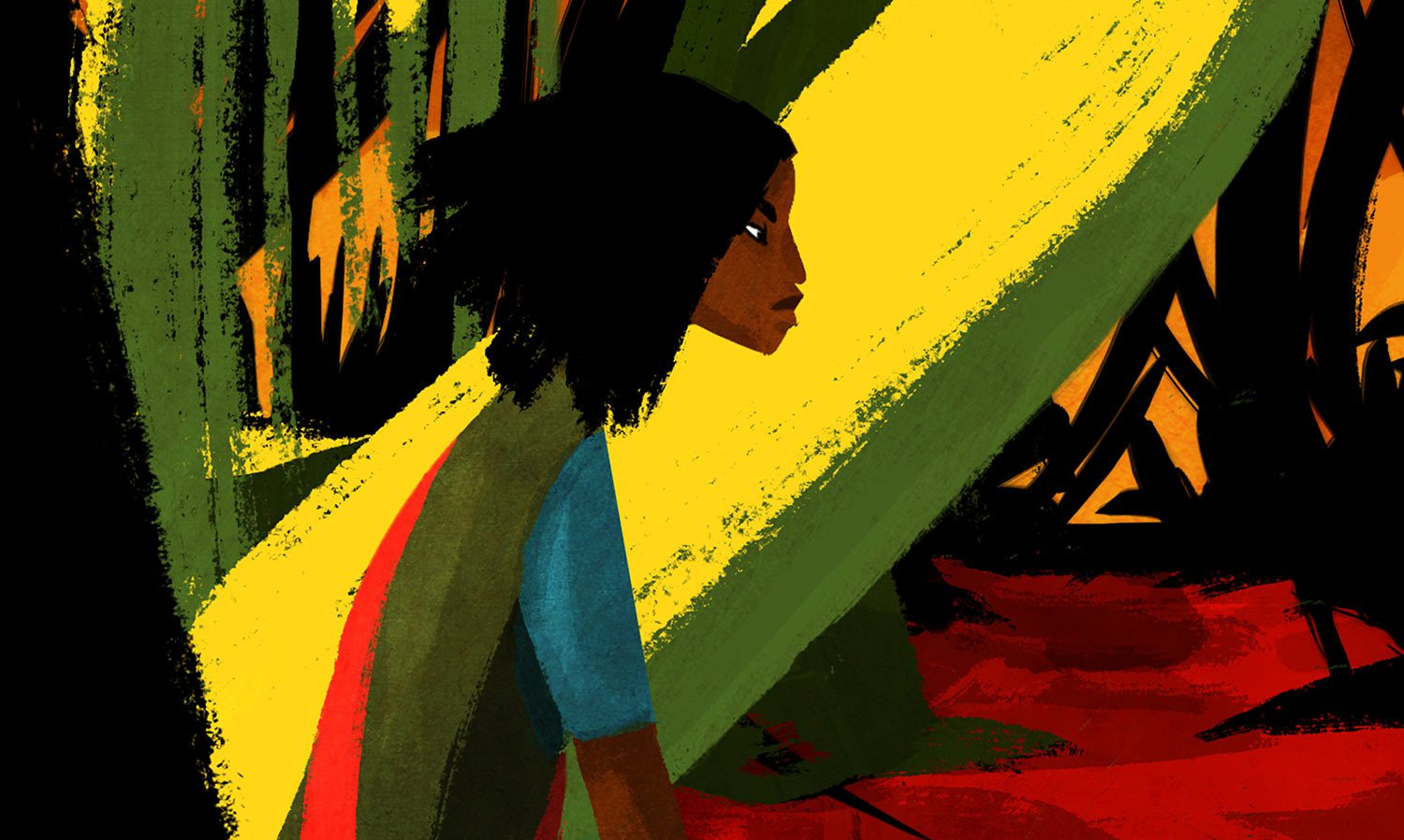 """By  Tambay Obenson   These five were among the 55 animated feature film projects that were presented at the Cartoon Movie Forum in Lyon, France; an annual initiative where producers go in search of partnerships and co-productions that will allow for the funding of around 20 animated feature films a year.  The 55 projects that were pitched came from 19 European countries: 23 of them in the concept stage; 21 in development; 8 in production; and 2 completed films.  Since 1999, over 254 films pitched at the Cartoon Movie Forum, with a total budget of 1.7 billion Euros ($1.8 billion), have secured their financing and have been released thanks to this annual event aimed at strengthening the production and distribution of animated feature films in Europe.  Below you'll find 5 projects that will be of specific interest to readers of this blog, along with descriptions, countries of origin, posters/artwork, and status.  1. """"Another Day of Life"""" (France, poster above) - is a story of a reporter searching for truth during the Angolan Civil War in 1975. During his suicidal journey across the country, he is faced with situations and events that force him to reevaluate his approach to his work and life, in general. It is the dramatic account of the three months the reporter spent in civil war. (In post-production).  2.  """"The Prince of the City of Sand"""" (Luxemborg) - Songs are the oil that makes dreams flow, the water that makes them germinate. Because of this, Rokìa loves more than anything to listen to her grandfather Matuké and sing along with him. And it is for this that the Prince of the City of Sand, who blots out the dreams of men with sand and collects their souls, hates the storytellers. This is the song of Rokìa, the girl with the enchanting voice. The girl who will cross the desert to recover the soul that the Prince of the City of Sand has stolen from Matuké, the great storyteller. (In development)  3.  """"Nayola"""" (Portugal, Belgium, Angola) - Three generations of women a"""