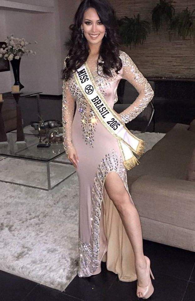 "Catharina Choi, "" Miss World Brasil 2015"""