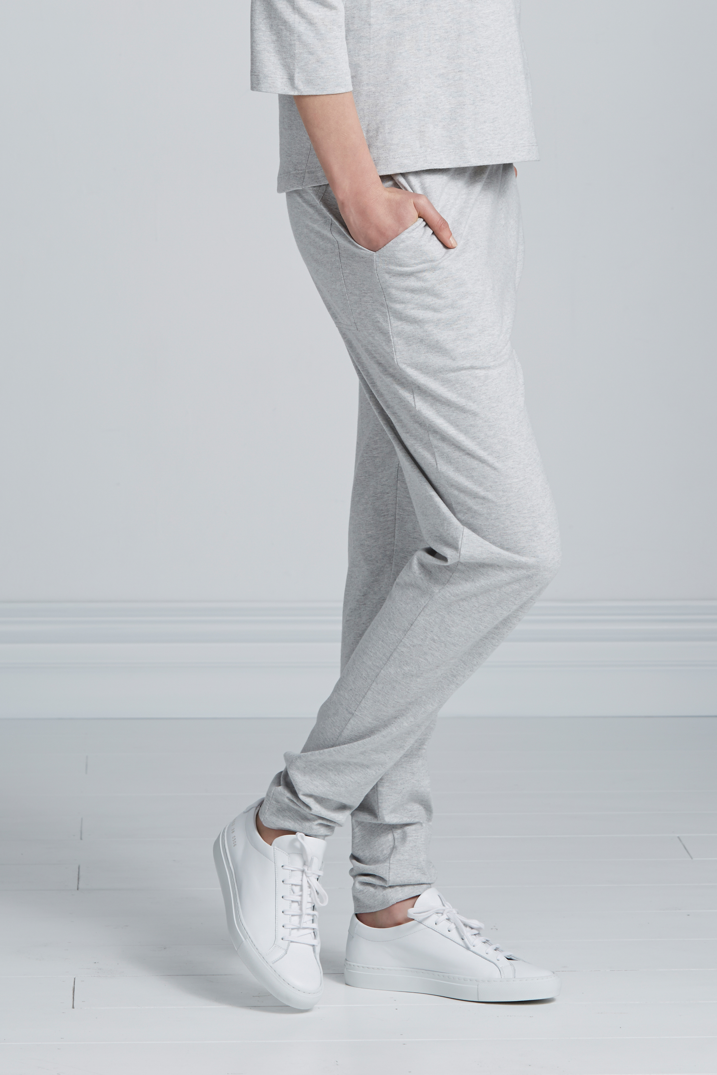Kowtow  Building Block Pants in Grey Marle  NZD $135