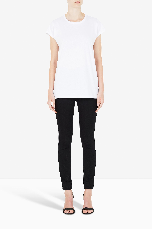 Bon Label Crew T-shirt in White  AUD $79.00