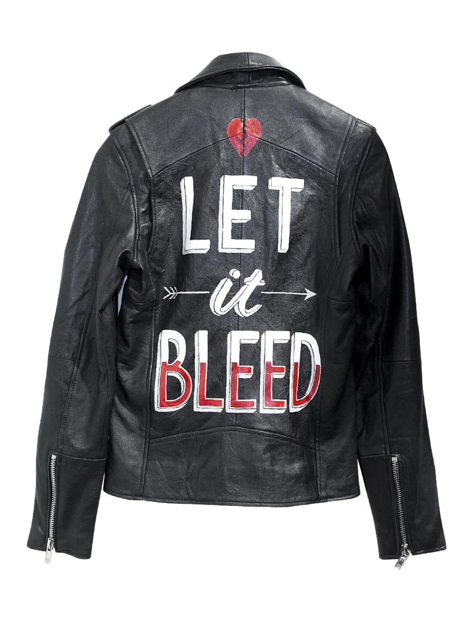 Deadwood Let It Bleed Leather Jacket