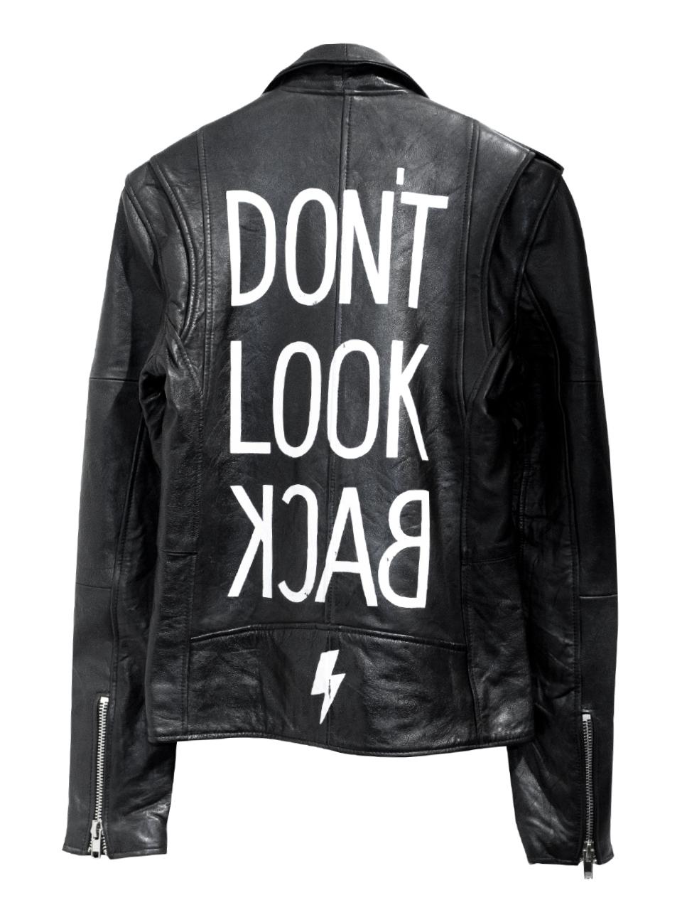Deadwood Don't Look Backer Leather Jacket
