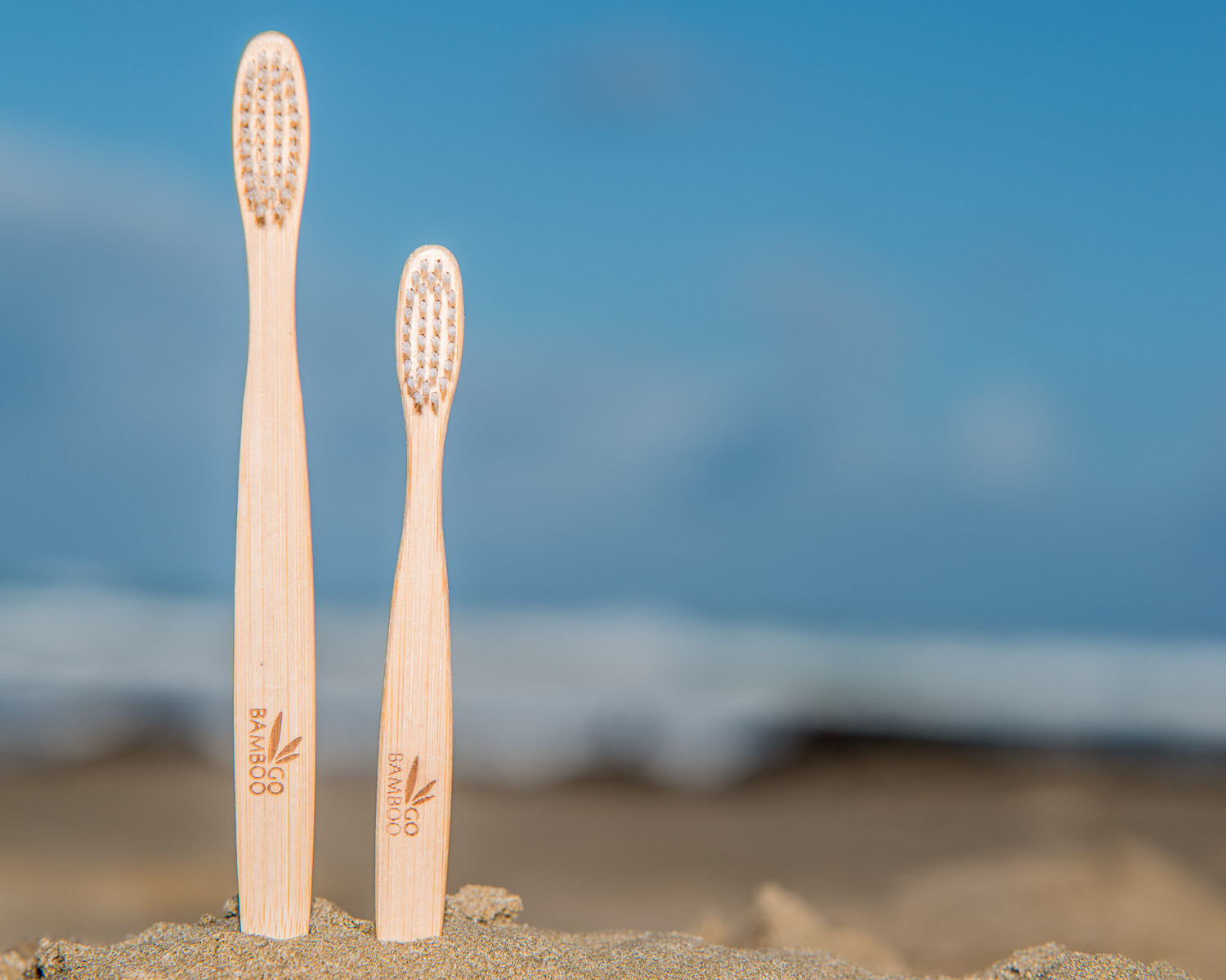 Bamboo toothbrushes from Go Bamboo