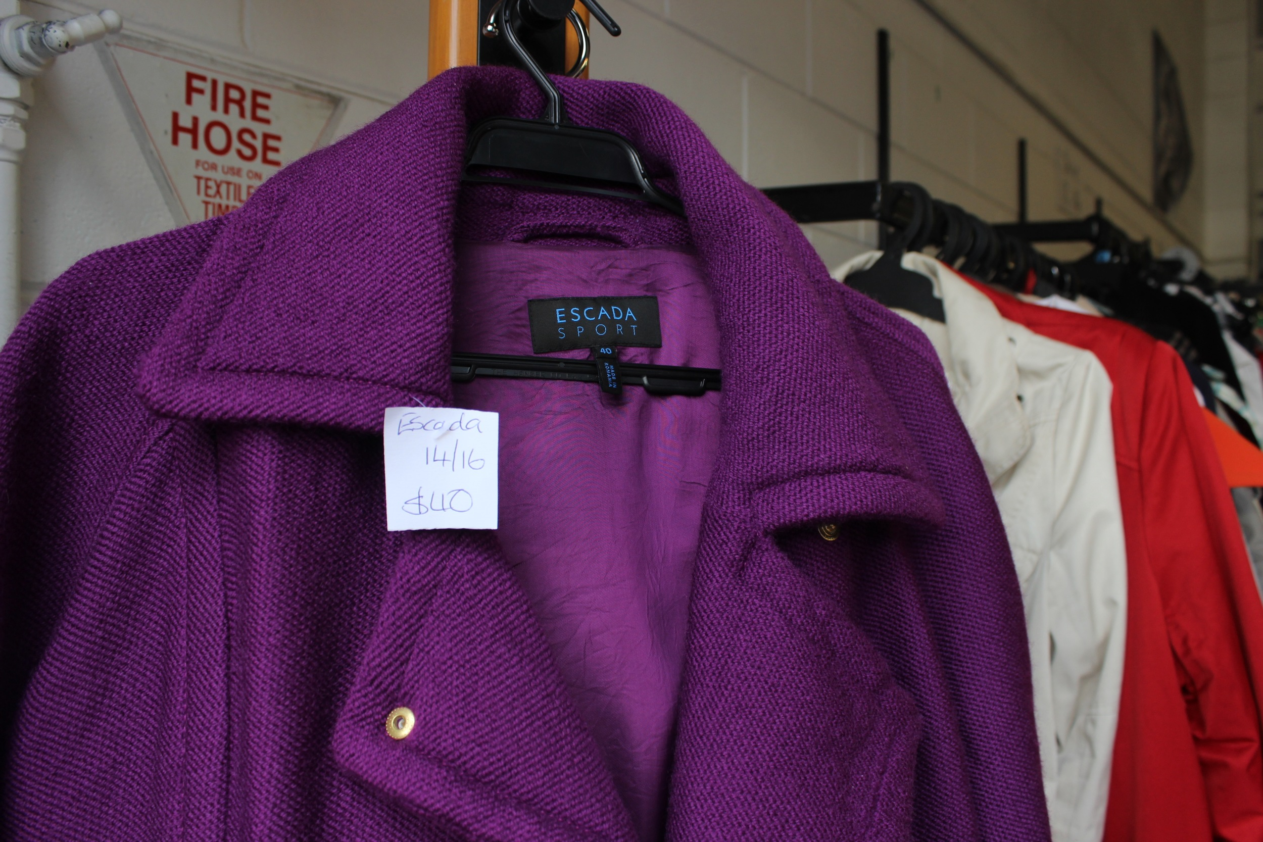 Escada Sport wool jacket, made in Italy