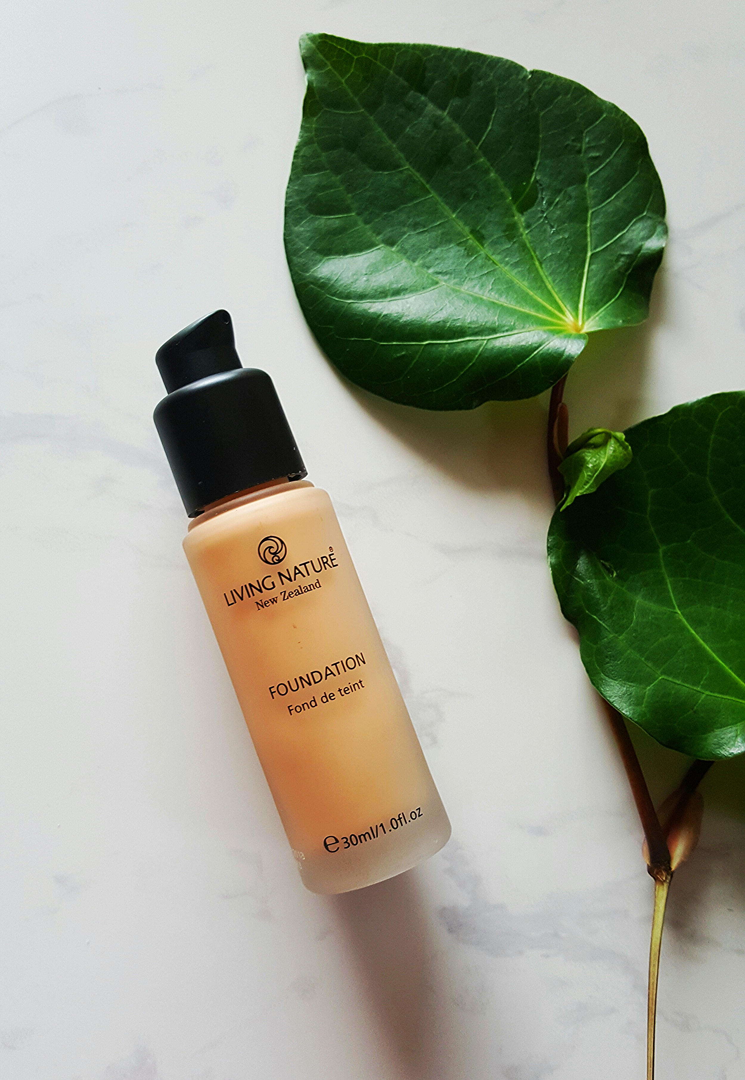 Living Nature Foundation in Pure Sand - NZD $55