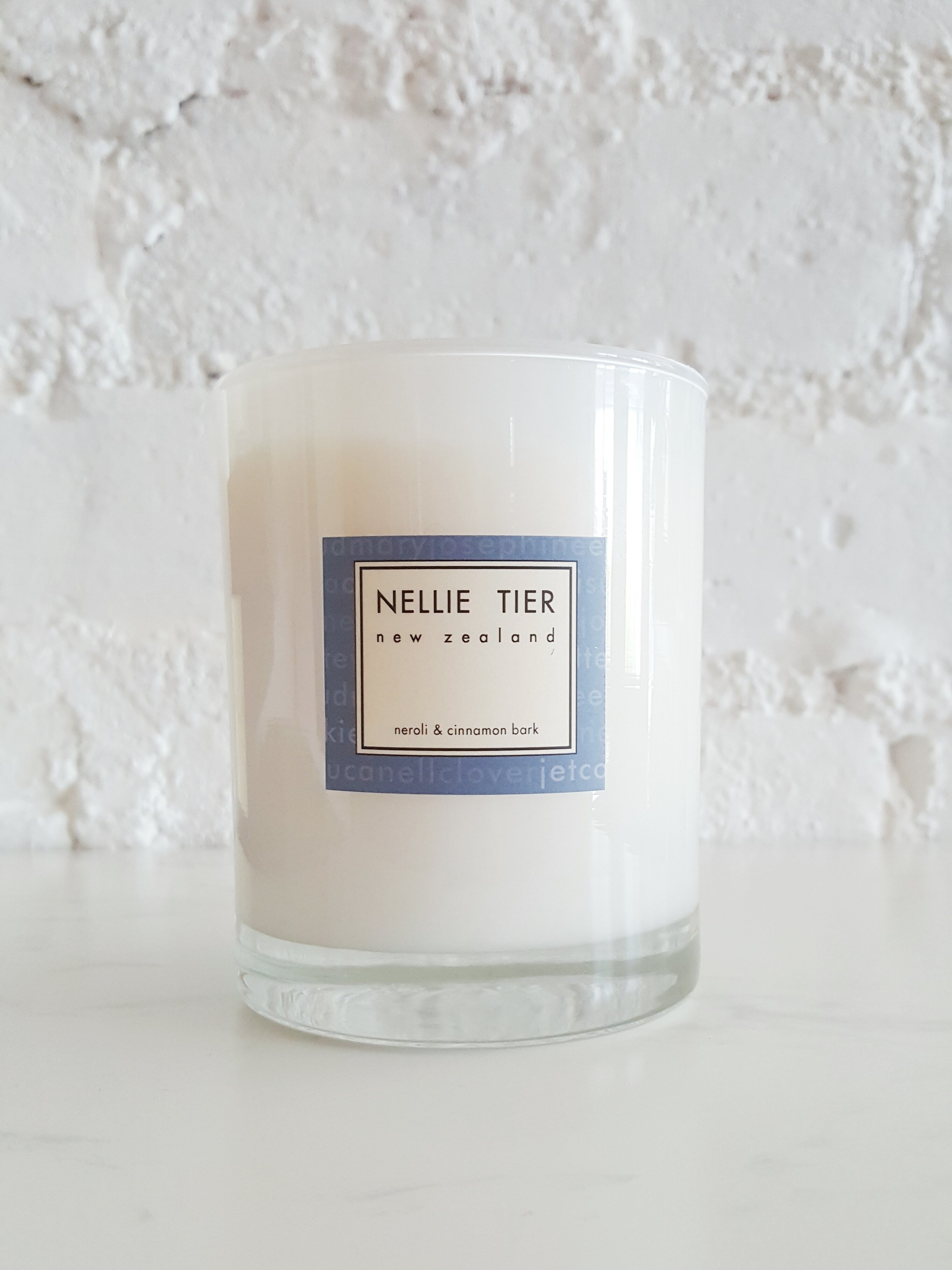 Nellie Tier  source their soy wax from sustainably grown US crops