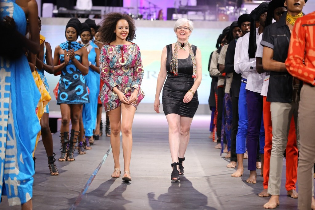 Kiko Romeo  is a Kenyan based fashion success story. Ann McCreath (right) is the MD and Head Designer.