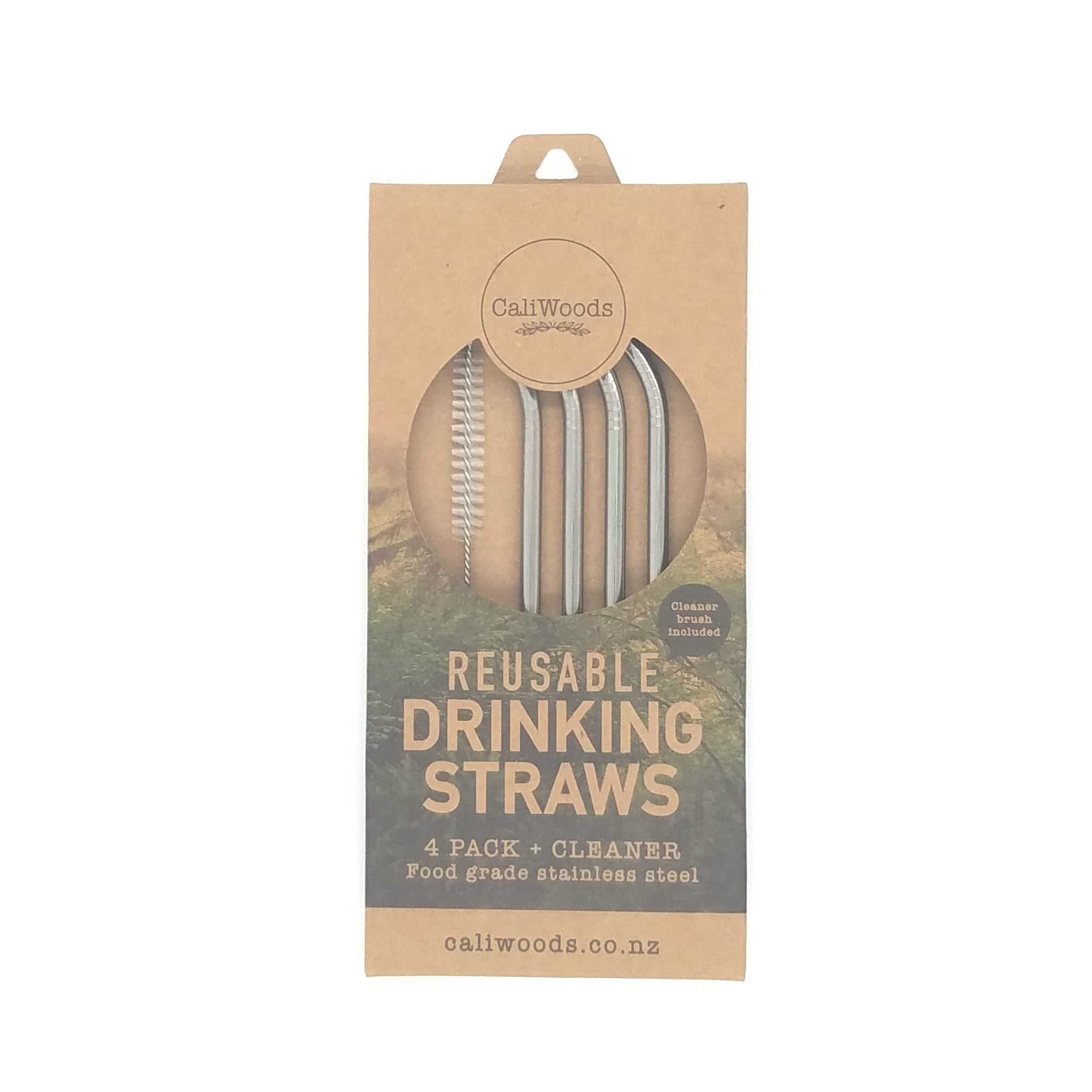 CaliWoods Reusable Drinking Straws NZD $17.90