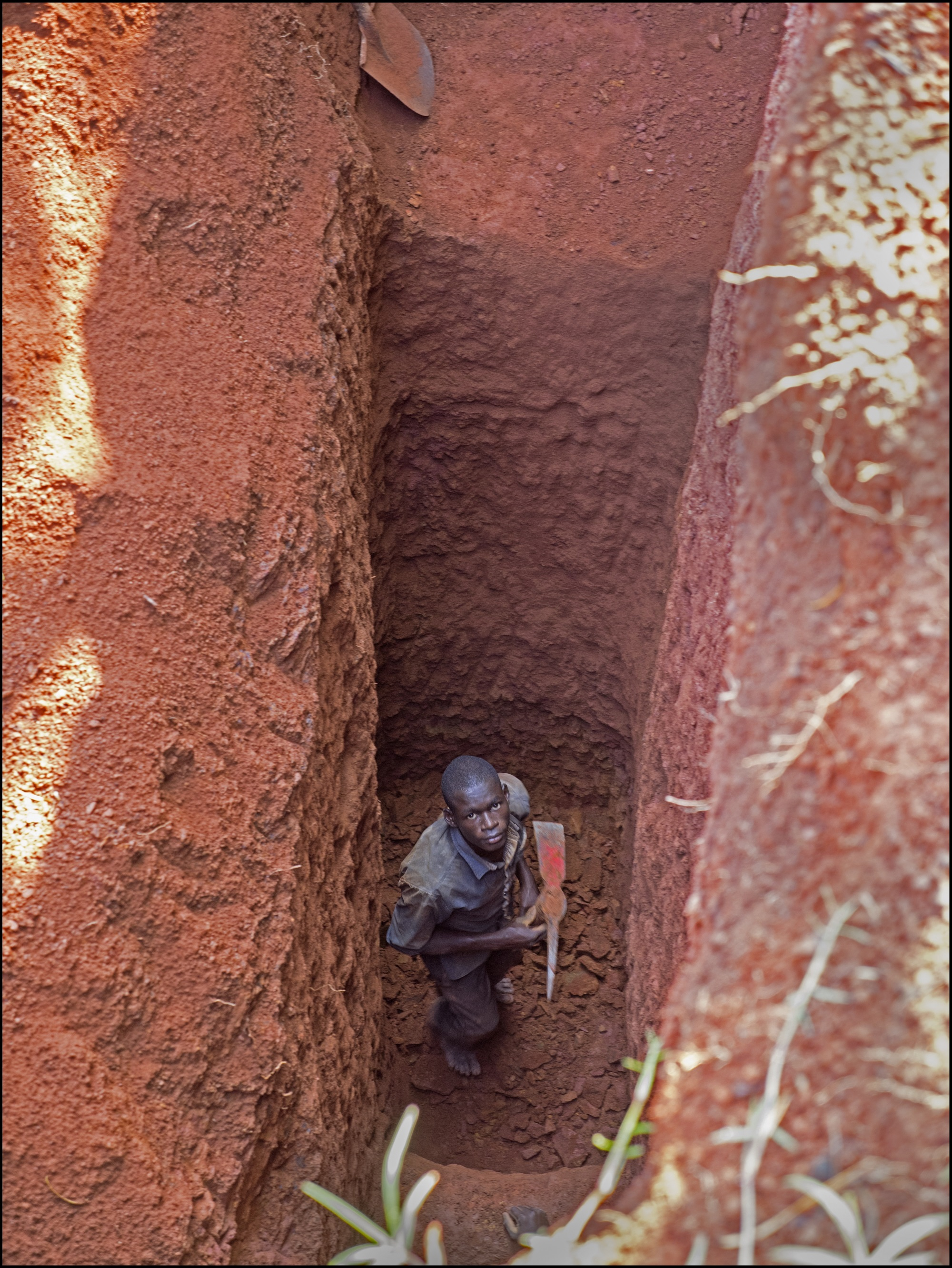 An artisanal gold miner (Photo credit:  Fairtrade UK )