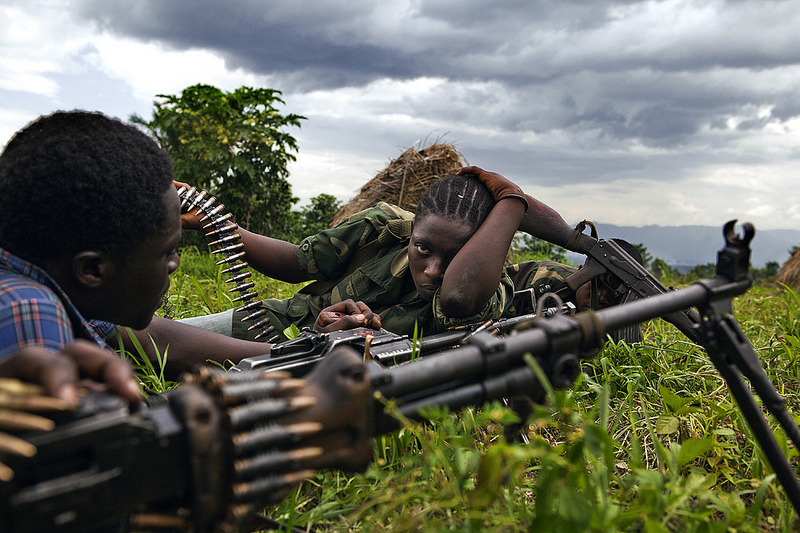 MS Kalashnikov Female fighters in Congolese rebel groups (photo credit Matchbox Media Collective)