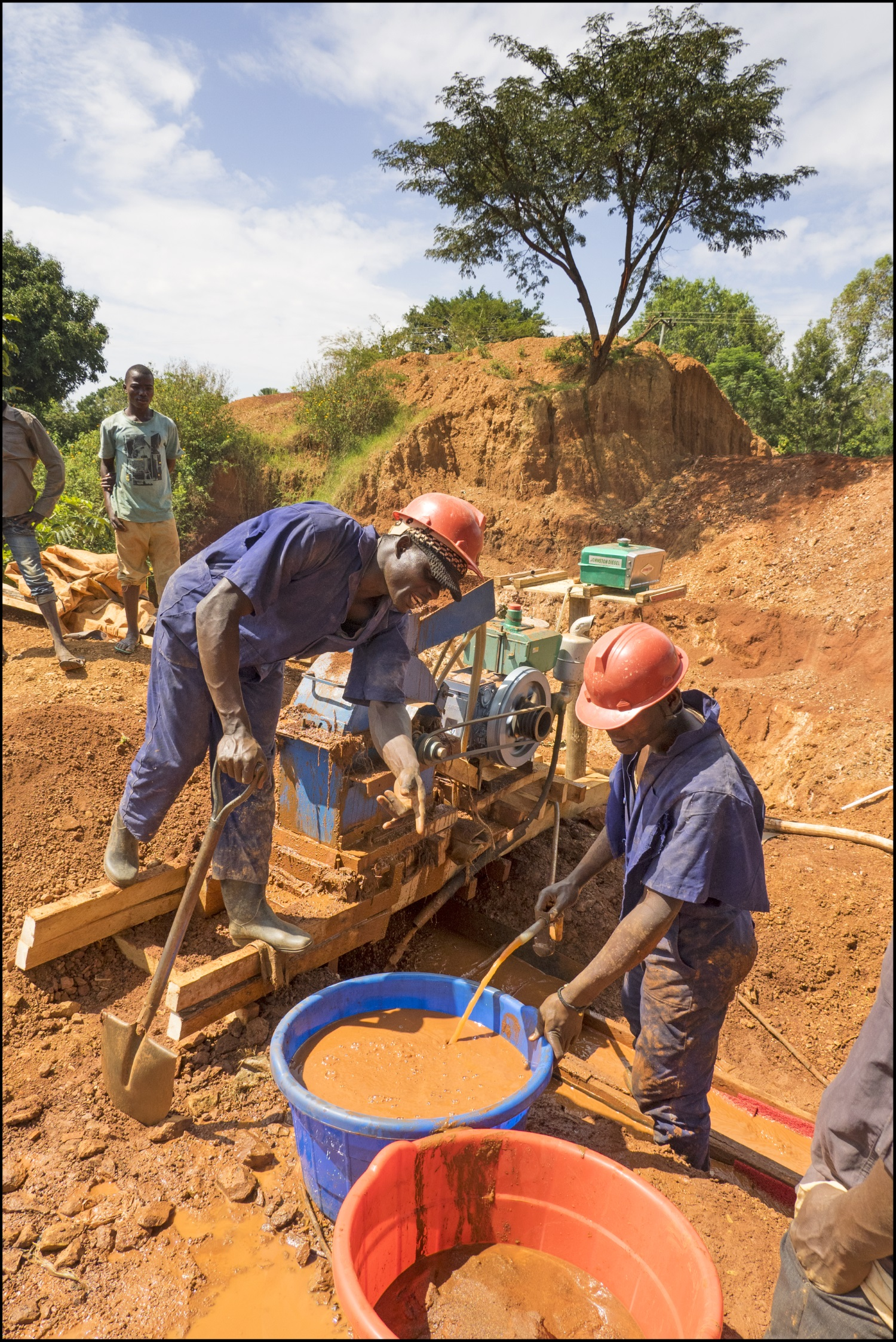 Safer procedures being used on a Fairtrade certified small scale gold mining operation (image credit: Fairtrade UK)