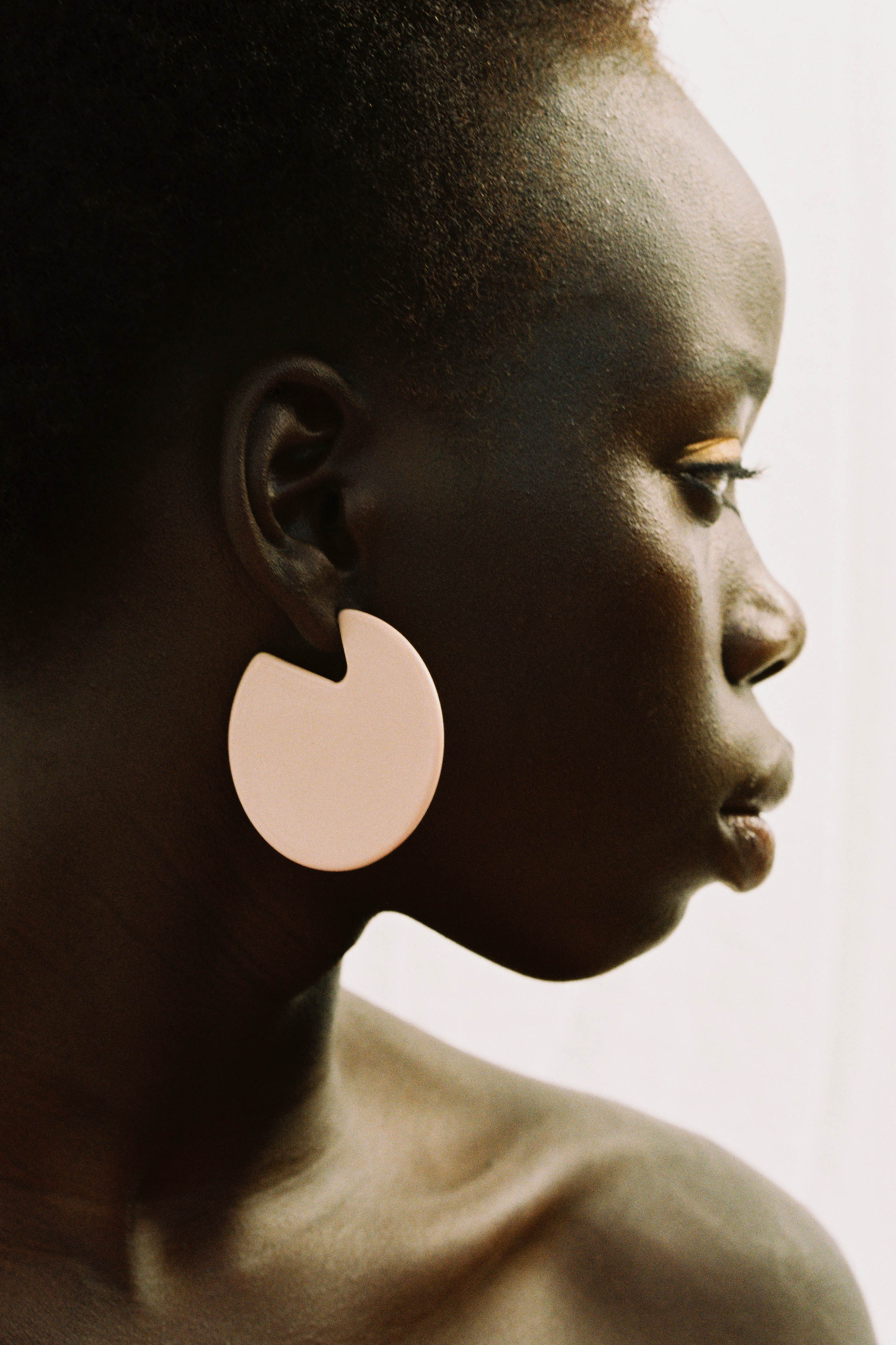 Clare Earrrings in Rose: $80 NZD from Mooma