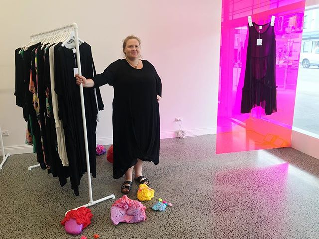 """In our latest article, we spoke to @lostandledastray designer,@fatyoganzfounder, and FATshion activist Sarah-Jane Duff about designing ethical clothing for plus size bodies, and why the word """"fat"""" should be embraced❤️ Link in bio ☝️ . . . . . . . . #fatshion #plussizefashion #plussizefashionnz #nzplussize #fatfashion #nzplussize #HAES #HAESNZ #healthateverysize #fatacceptance #fatpositive #fatyoga #fatyoganz #ethicalfashion #sustainablefashion #nzmadefashion #nzfashion #nzfashionblogger #consciousfashion"""