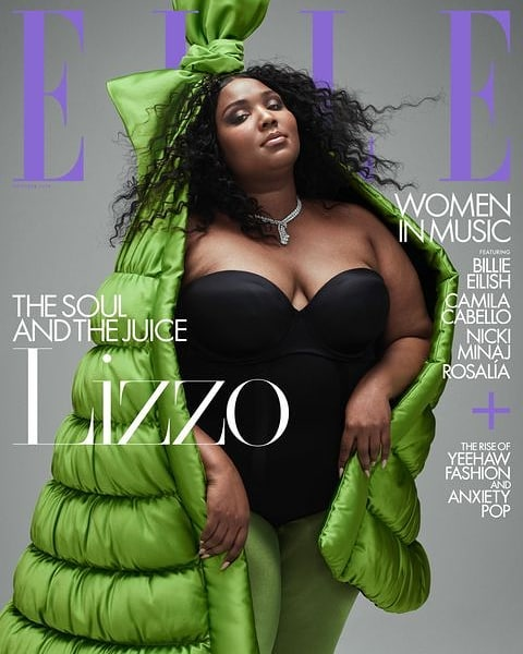 "We Stan an unapologetic, confident queen. A quote from our girl Lizzo's latest interview for Elle: ""When people look at my body and be like, 'Oh my God, she's so brave,' it's like, 'No I'm not, I'm just fine. I'm just me. I'm just sexy...I don't like it when people think it's hard for me to see myself as beautiful. I don't like it when people are shocked that I'm doing it."" . . . . #lizzo #thatbitch #truthhurts #bodypositive #effyourbeautystandards #ethicalfashion #ethical #bodypositivity #juice #juicy"