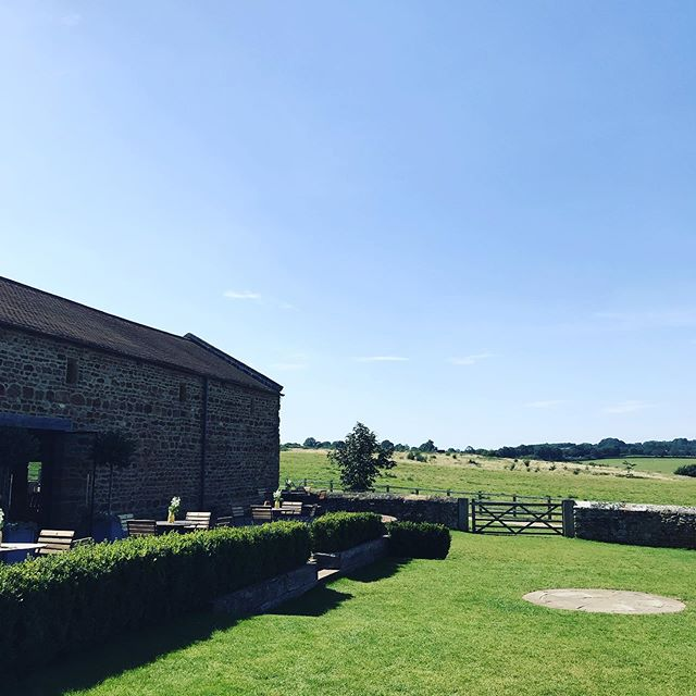 Perfect weather for a wedding! #dodfordmanor #dodfordmanorwedding #wedding #weddingvenue #sun #perfect