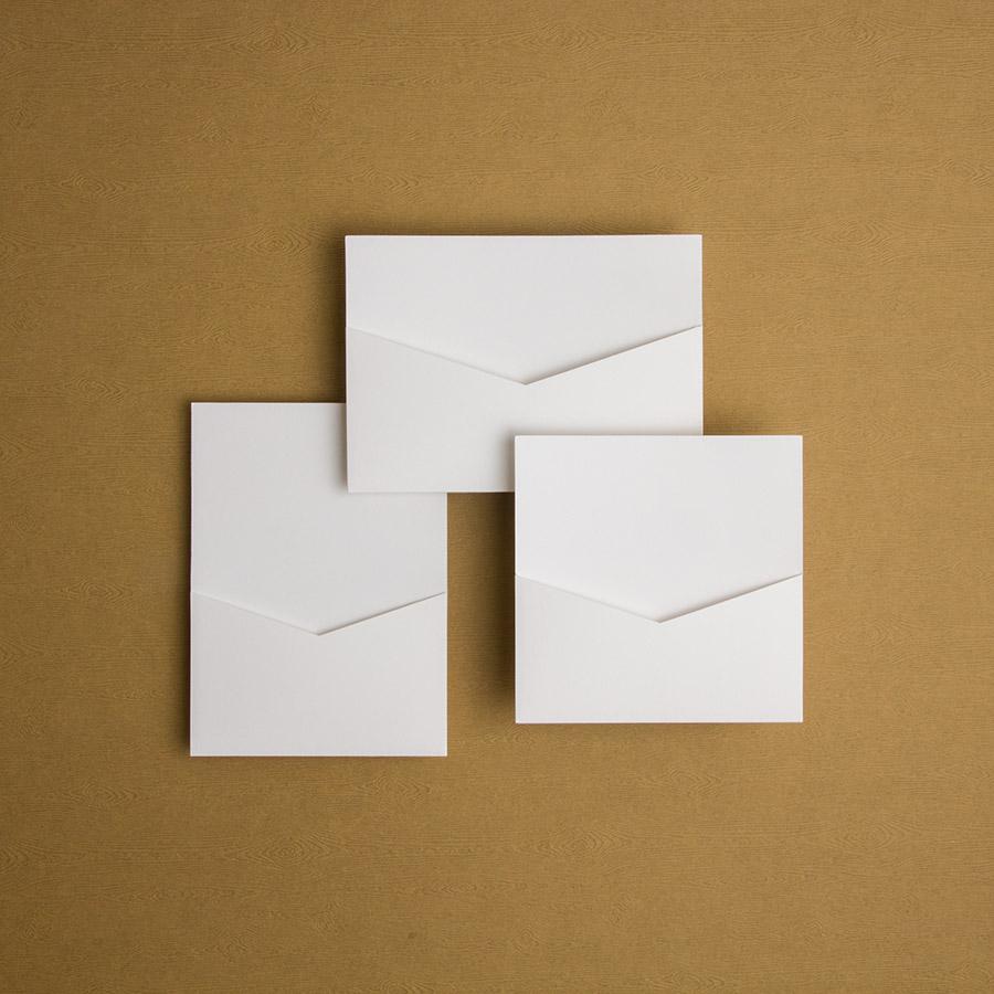 Fourreau ouvert simple     15x15, 13x18