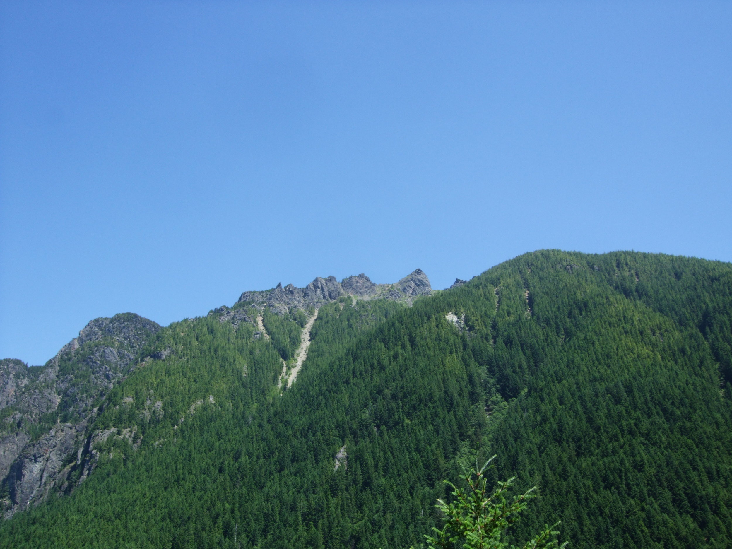Mt. Si from Little Si, June 2013