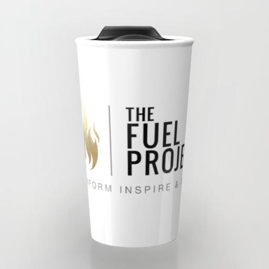 Fuel Logo Travel Mug      $24   12 oz