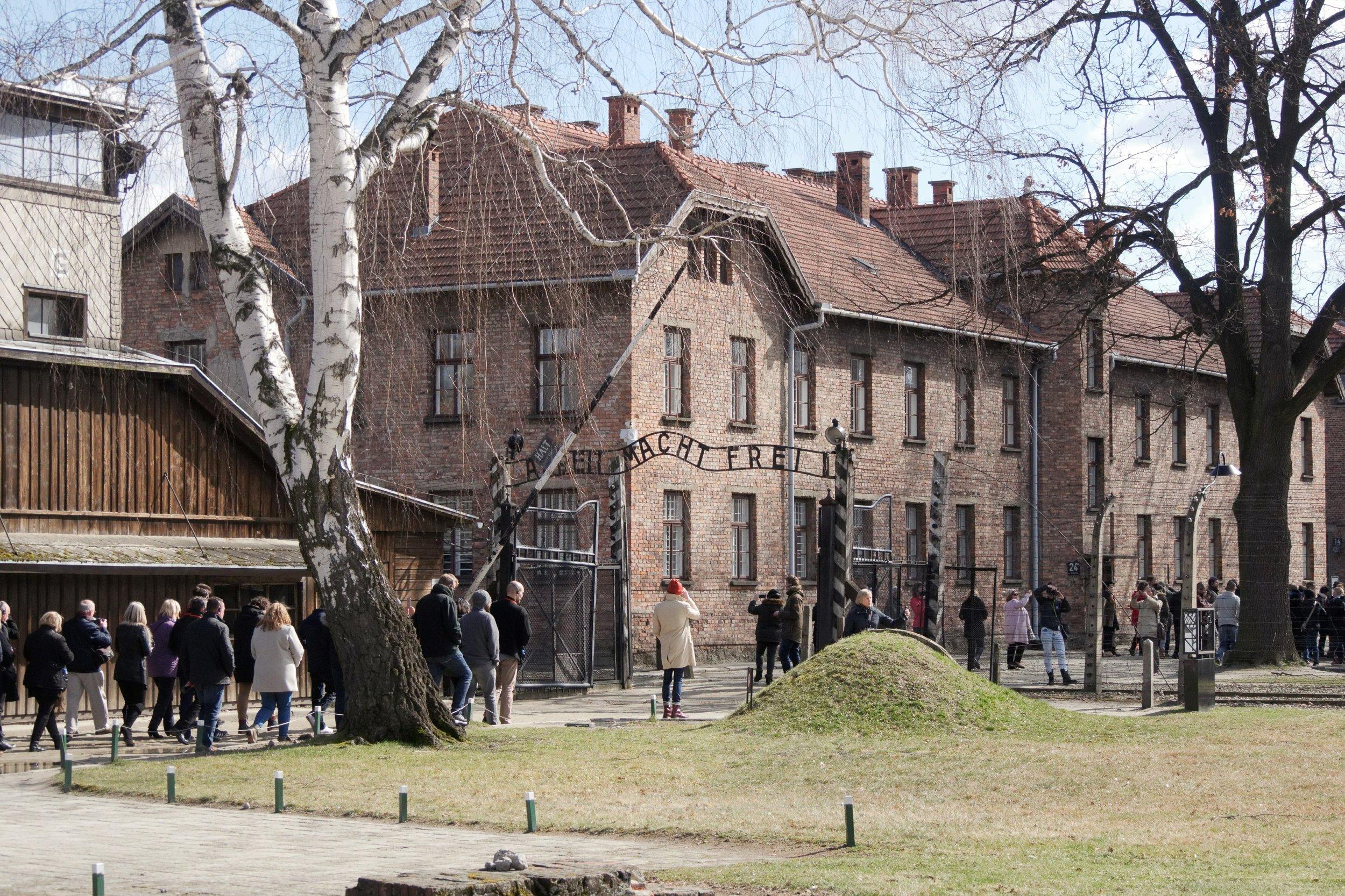 Entrance to Auschwitz I