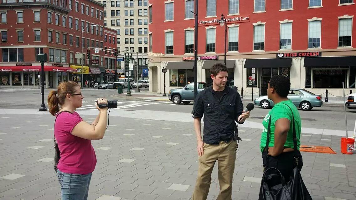 Street interviews in Worcester, MA