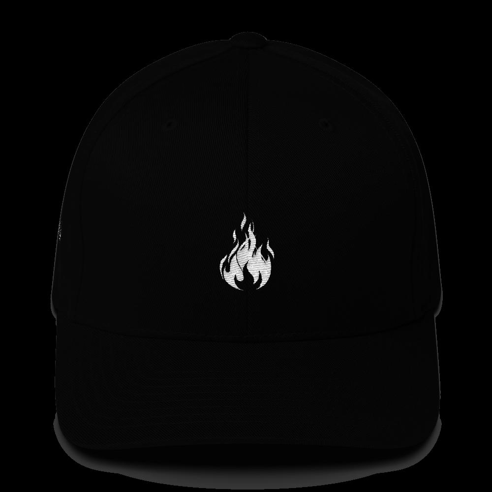 Flame Cap (Black) || $25