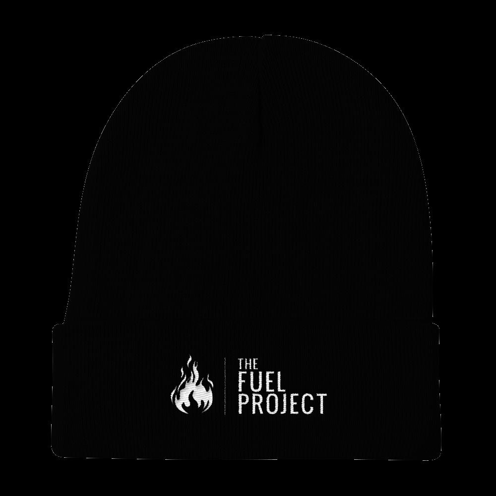 Fuel Logo Beanie (Black) || $25