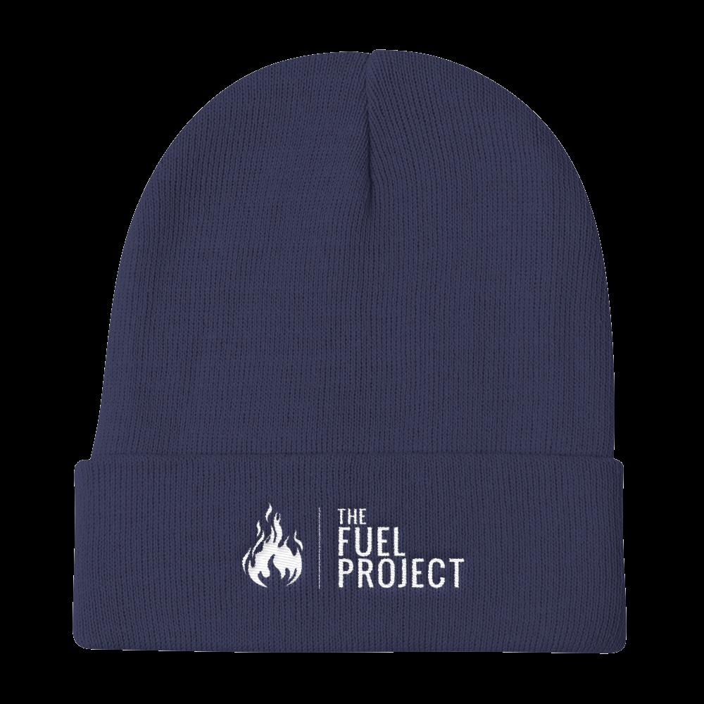 Fuel Logo Beanie (Navy) || $25
