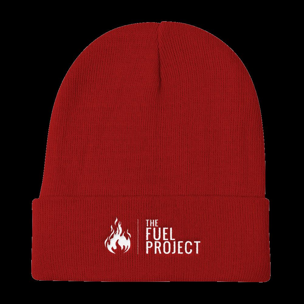 Fuel Logo Beanie (Red) || $25