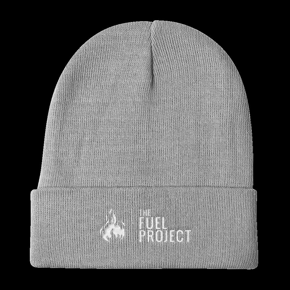 Fuel Logo Beanie (Grey) || $25