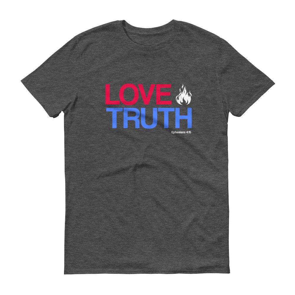 Love Truth (Heather Grey) || $25