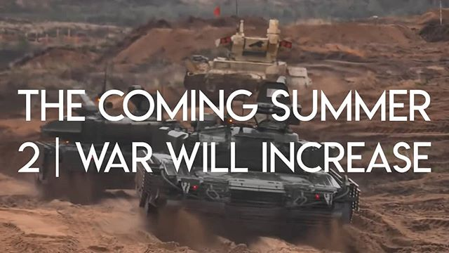 """The second sign Jesus gave that his end was getting near was an increase of war. Is it happening? Episode 2 of """"The Coming Summer' is now live! Link in profile. . . . . . . . . . #thecomingsummer #thefuelproject #war"""