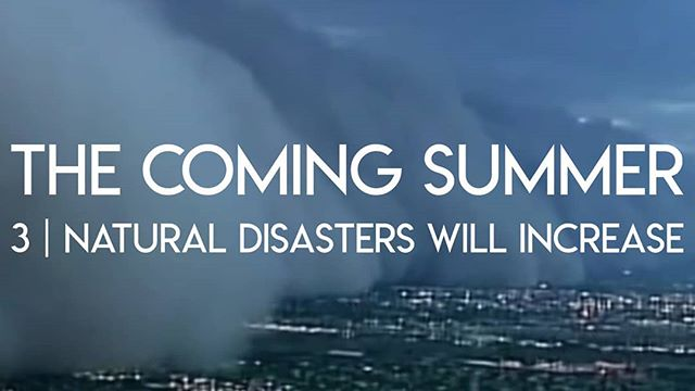 The third sign of Jesus' return is an increase in natural disasters. Is it happening? Link in profile! . . . . . . . . . . . #thecomingsummer #thefuelproject #fuel #naturaldisasters #secondcoming #Jesus #God #christianity #christian #newseries #newvideo #video #prophecy