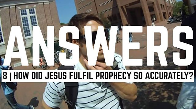 Jesus fulfilled over 300 prophecies written centuries before his birth. How? Link in profile!