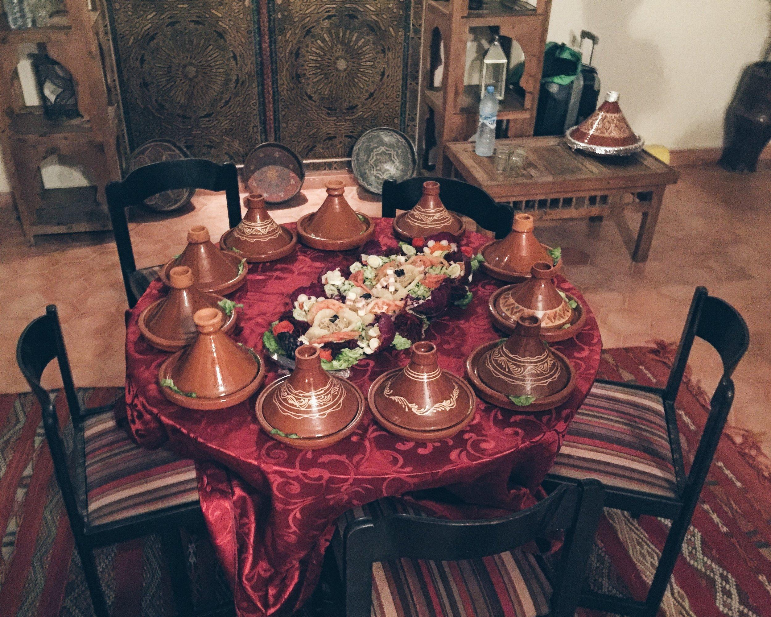 Traditional Moroccan Tajines