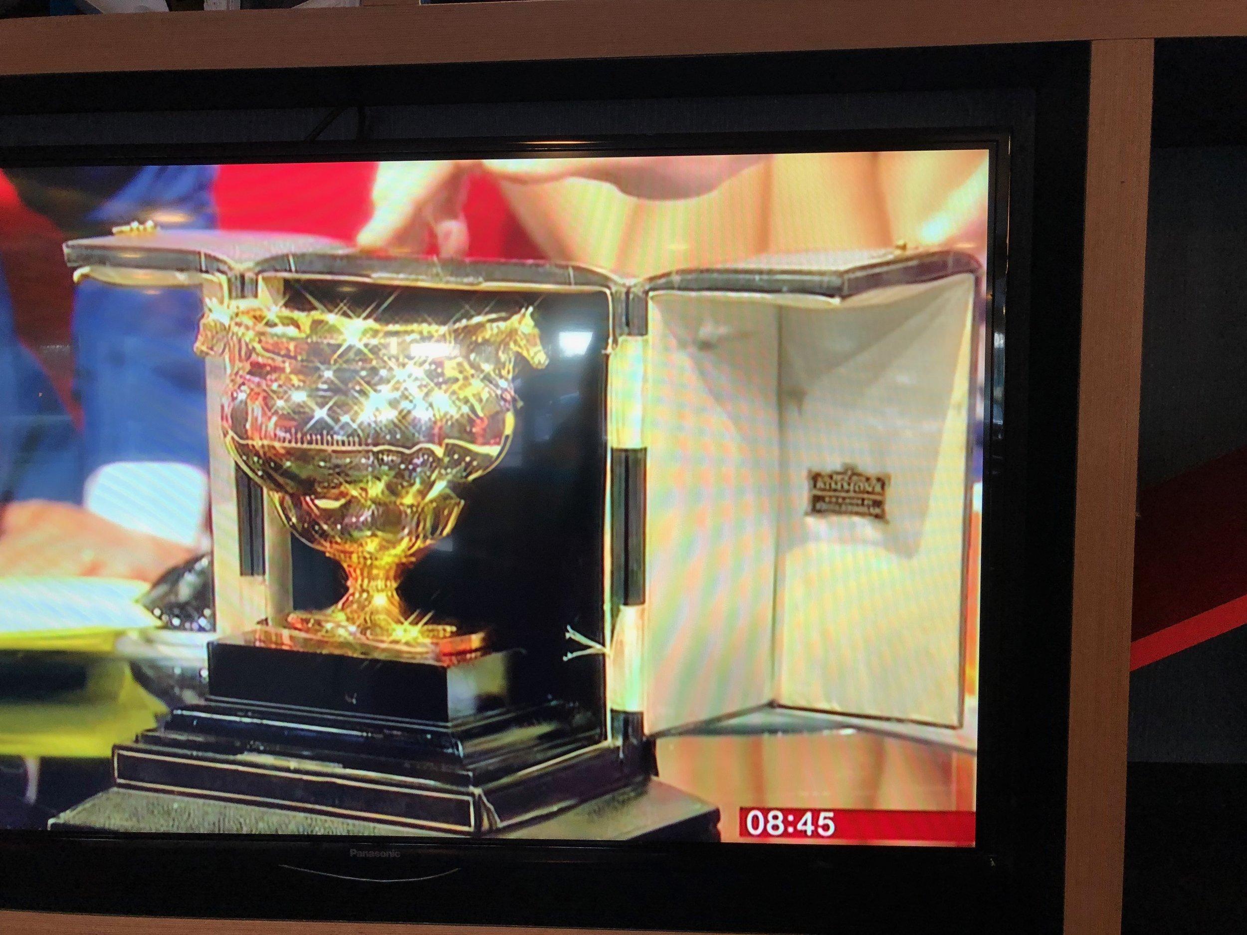 Cheltenham Gold Cup on TV at BBC Salford Studios