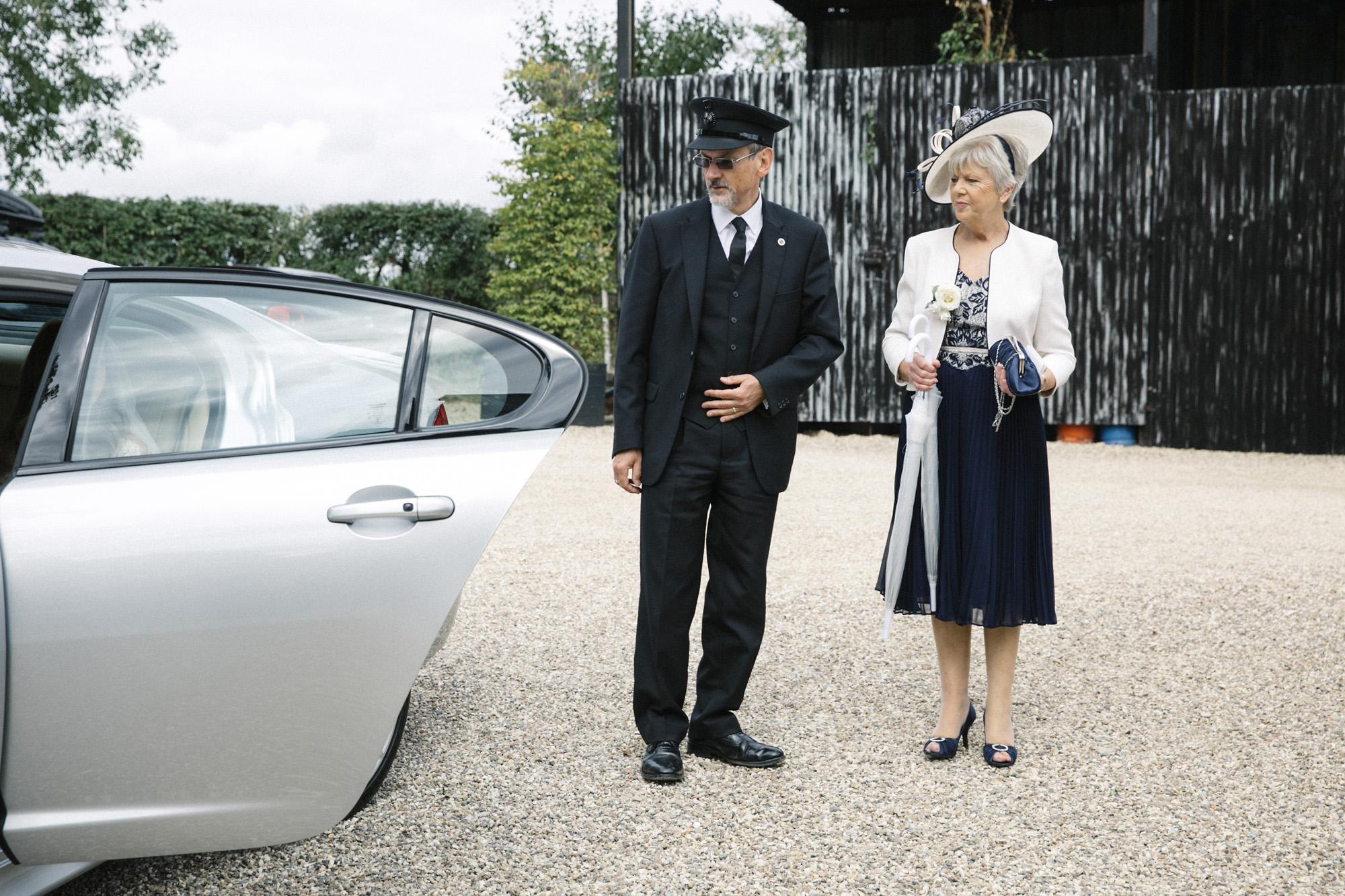 Jaguar XFS and executive chauffeur